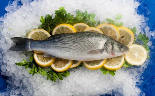 Замразена риба Лаврак Пакет